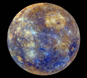 Mercure, la planète maîtresse du Gémeaux.