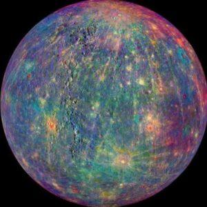 Mercure vierge planète système solaire